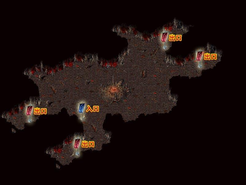英雄心法—血池地图、怪物